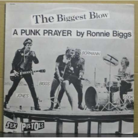 Sex pistols the biggest blow