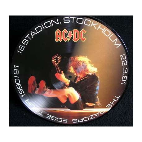 ac/dc the razor edge tour part 2