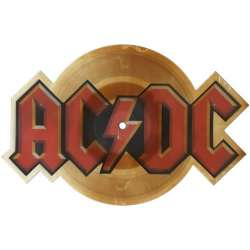 AC/DC guns for hire shaped picture disc