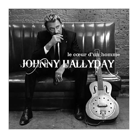 Cd johnny hallyday le coeur d 39 un homme dispo sur rock n game disquaire ind pendant champagnole - Photo d un coeur ...