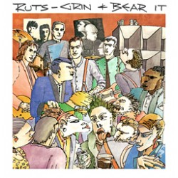 CD the ruts – grin & bear it dispo sur Rock-n-game disquaire indépendant Champagnole