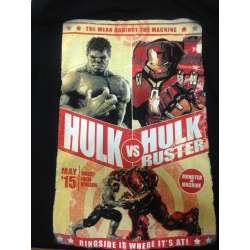 advengers hulk vs hulk buster