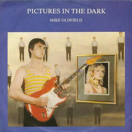 mike oldfield pictures in the dark