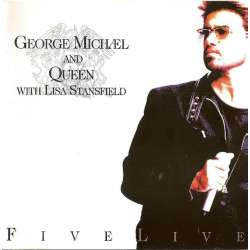 george michael and queen with lisa stansfield five live