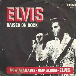 elvis presley raised on rock