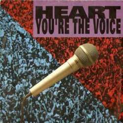 heart you're the voice