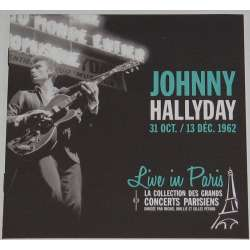 johnny hallyday 31 oct /13 dec 1962 live in paris