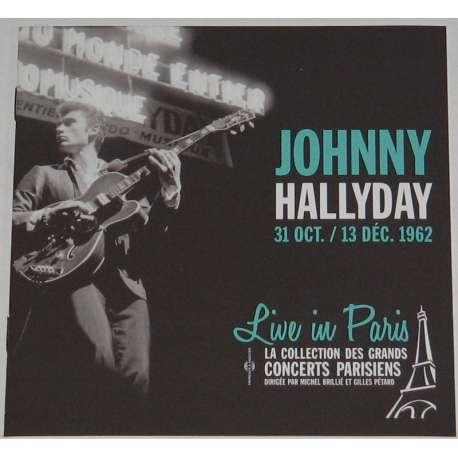 johnny hallyday 31 oct /13 dec 1962 live in paris