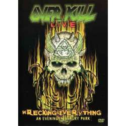 overkill live wrecking everything an evening in asbury park