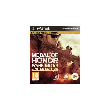 medal of honor warfighter limited edition