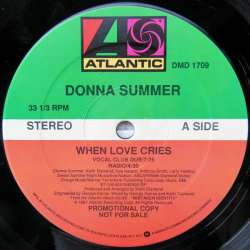donna summer when love cries